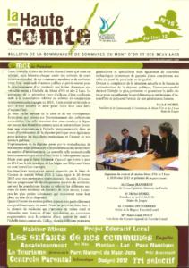 Bulletin N°16 - juillet 2012