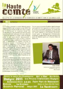 Bulletin N°17 - août 2013