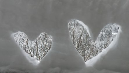 Rochejean Coeurs Neige