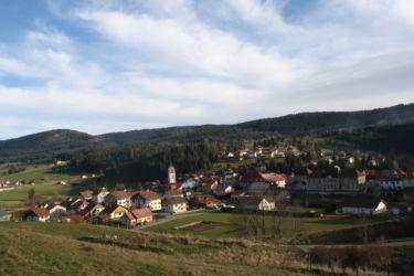 Rochejean Vue village