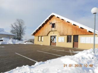 mairie Malpas en hiver